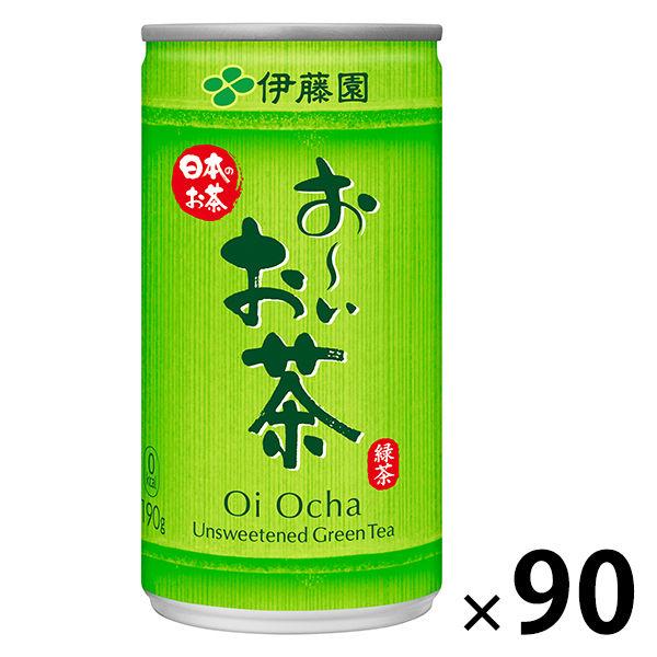 おーいお茶緑茶190g 90缶