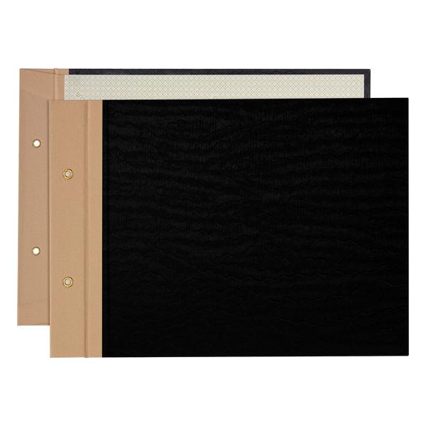 プラス とじ込表紙 B5ヨコ 192×267mm 2穴 FL-005TU 77216 1袋(10組入)