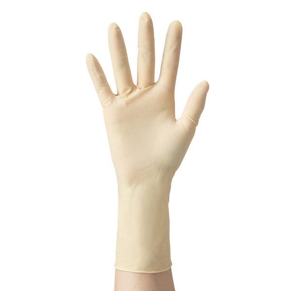 ラテックスグローブ パウダーフリー(SS) 240910 三興化学工業 (使い捨て手袋)