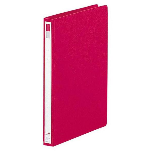 リヒトラブ リングファイル A4タテ 背幅27mm 赤 F867U 1セット(30冊:10冊入×3箱)