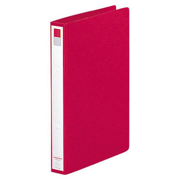 リヒトラブ リングファイル A4タテ 背幅36mm 赤 F877U 1セット(30冊:10冊入×3箱)