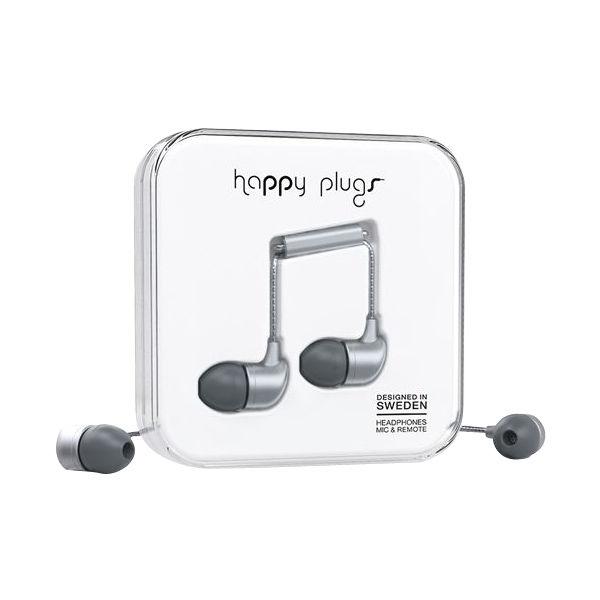 happy plugs スペースグレイ