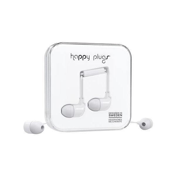 happy plugs ホワイト