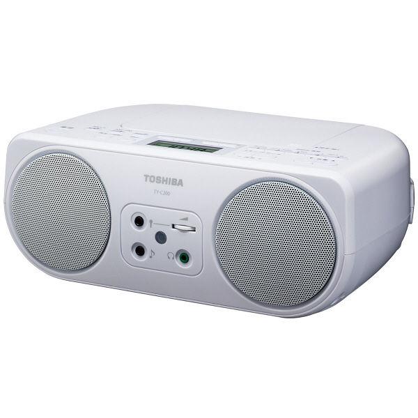 東芝 CDラジオ TY-C200(W)