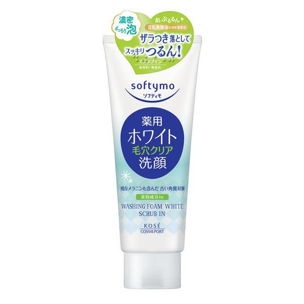 ソフティモ薬用洗顔フォームWH スクラブ
