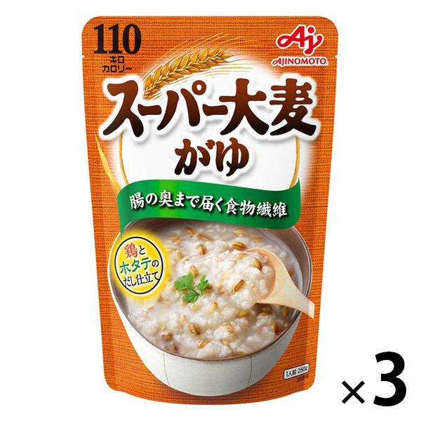 味の素 スーパー大麦がゆ 3個