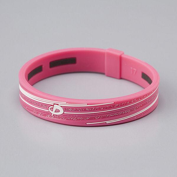 ブレスSスラッシュラメ ピンク/ホワイト