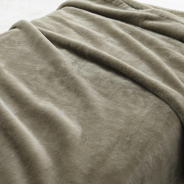無印良品 ニット毛布 ベージュ 新品未使用