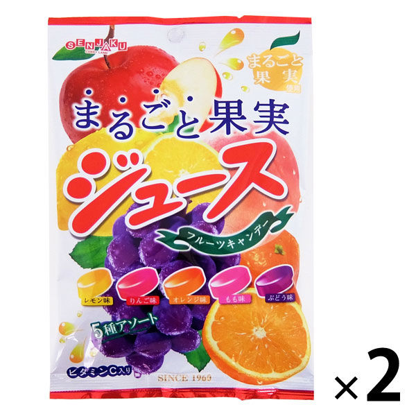 まるごと果実ジュースキャンデー 2袋