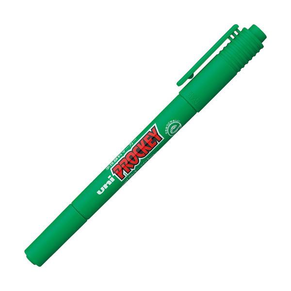 水性ペン プロッキー 細/極細ツイン 緑