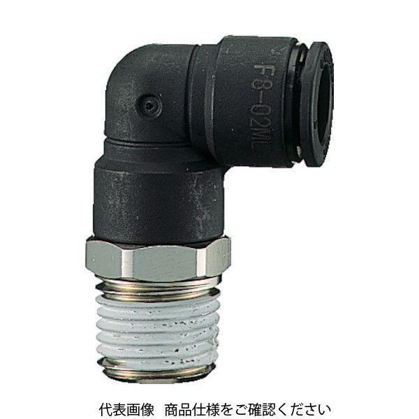 千代田通商 チヨダ ファイブメイルエルボ 8mm・R3/8 F8-03ML 1個 158-4456 (直送品)