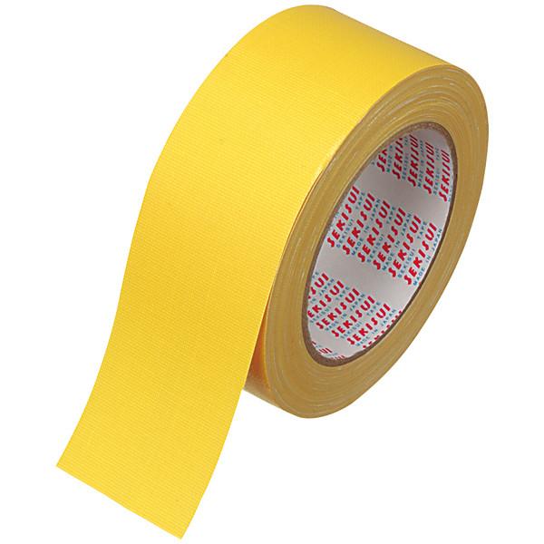 カラー布テープ No.600V 0.22mm厚 50mm×25m巻 黄 N60YV03 積水化学工業