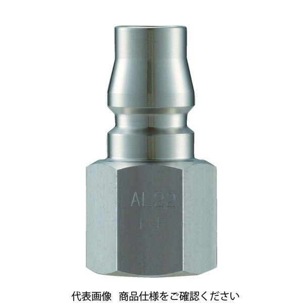 長堀工業 ナック クイックカップリング AL40型 ステンレス製 オネジ取付用 CAL44PF3 1個 364-3166 (直送品)