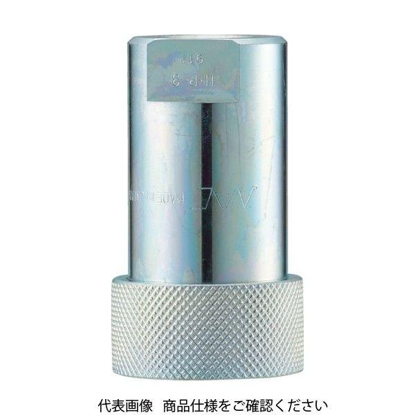 長堀工業 ナック クイックカップリング HP型 特殊鋼製 高圧タイプ オネジ取付用 CHP16S 1個 364-3981 (直送品)