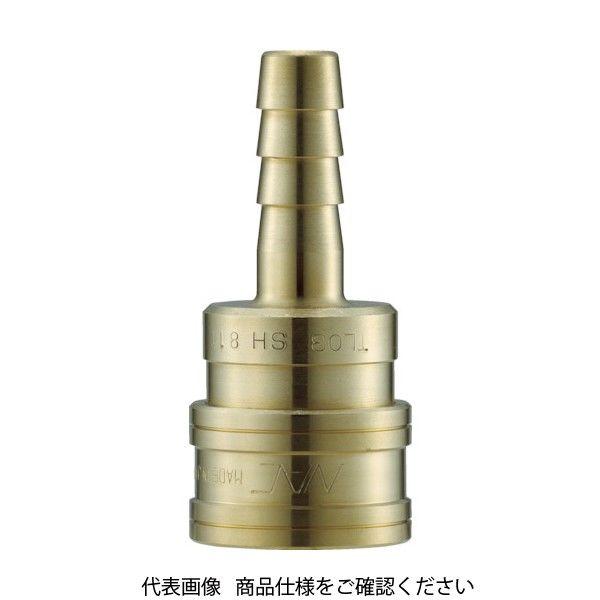 長堀工業 ナック クイックカップリング TL型 真鍮製 ホース取付用 CTL16SH2 1個 364-5657 (直送品)