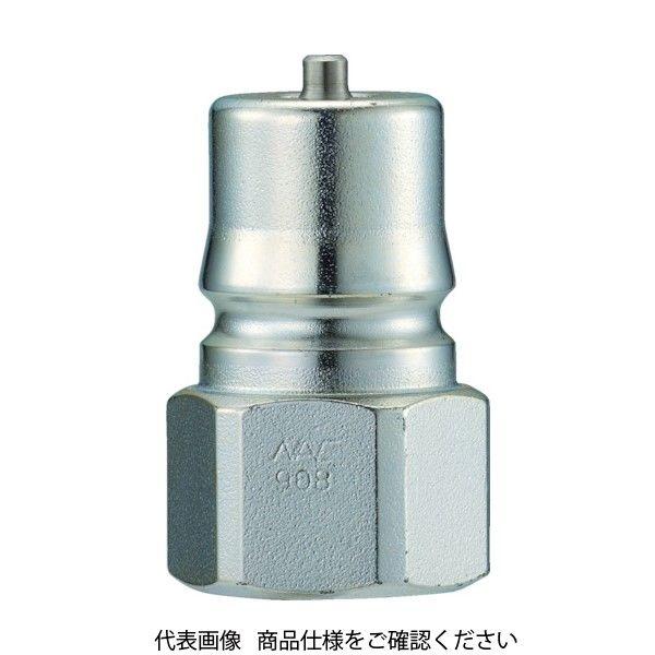 長堀工業 ナック クイックカップリング HP型 特殊鋼製 高圧タイプ オネジ取付用 CHP08P 1個 364-3913 (直送品)