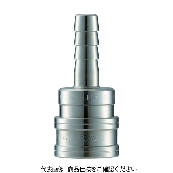 長堀工業 ナック クイックカップリング TL型 ステンレス製 ホース取付用 CTL08SH3 1個 364-5291 (直送品)