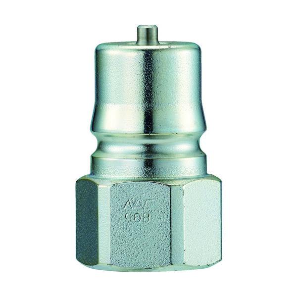長堀工業 ナック クイックカップリング HP型 特殊鋼製 高圧タイプ オネジ取付用 CHP02P 1個 364-3832 (直送品)