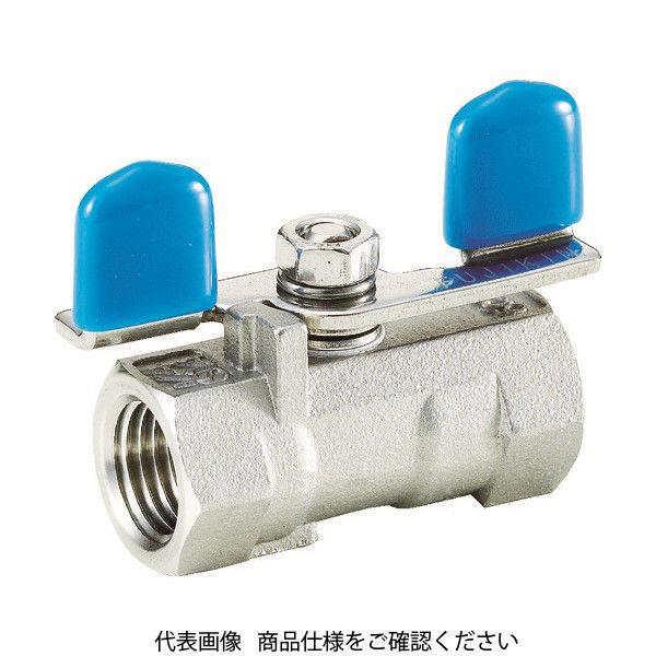 フジキン(Fujikin) フジキン ステンレス鋼製3.92MPaレデュースボアタイプボール弁10A UBVN-14C-BU-R 365-5580 (直送品)