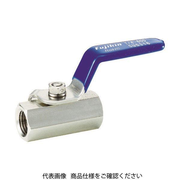 フジキン(Fujikin) フジキン ステンレス鋼製3.92MPaミニボール弁10A(3/8) UBV-14C-R 1個 365-5407 (直送品)