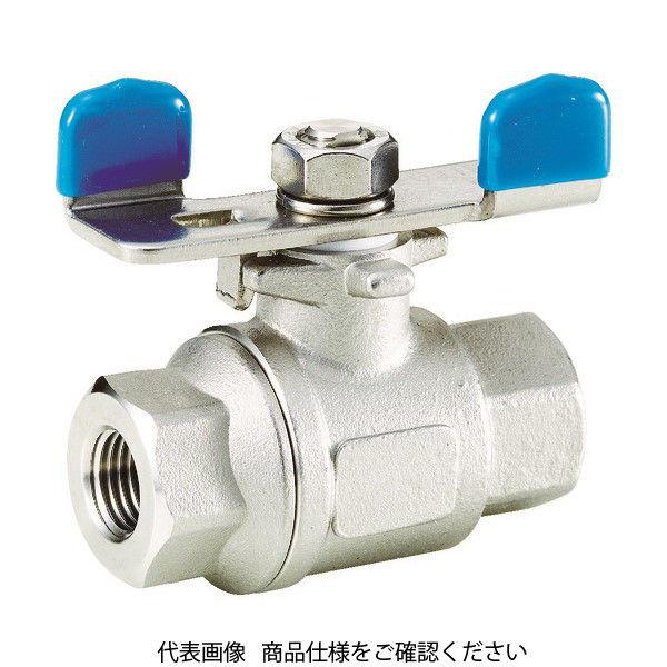 フジキン(Fujikin) フジキン ステンレス鋼製3.92MPaフルボアタイプボール弁25A(1) UBVNF-14F-BU-R 365-5776 (直送品)