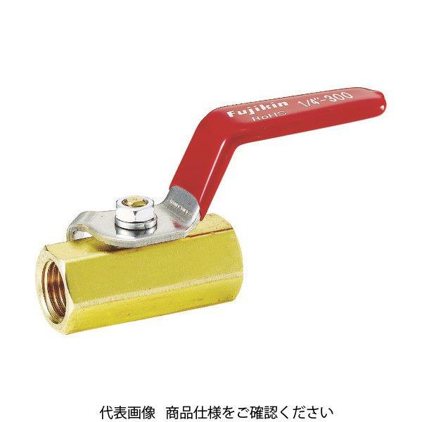 フジキン(Fujikin) フジキン 黄銅製1.96MPaミニボール弁20A(3/4) DBV-12E-R 1個 365-5113 (直送品)