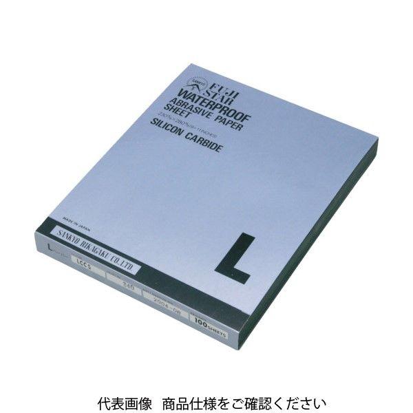 三共理化学 三共 L耐水ペーパー LCCS-320 1セット(100枚) 322-5950 (直送品)