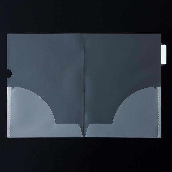 クリアホルダー横見出し 二つ折り 10冊