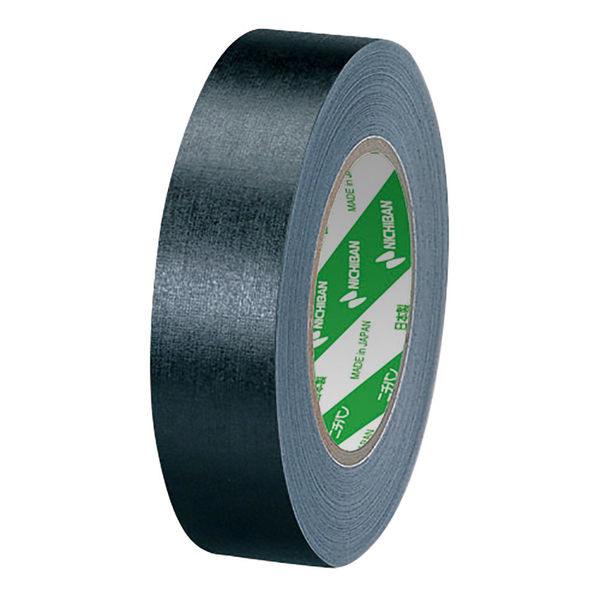 ニチバン 再生紙製本テープ ロールタイプ 幅35mm×30m 黒 BK35-30