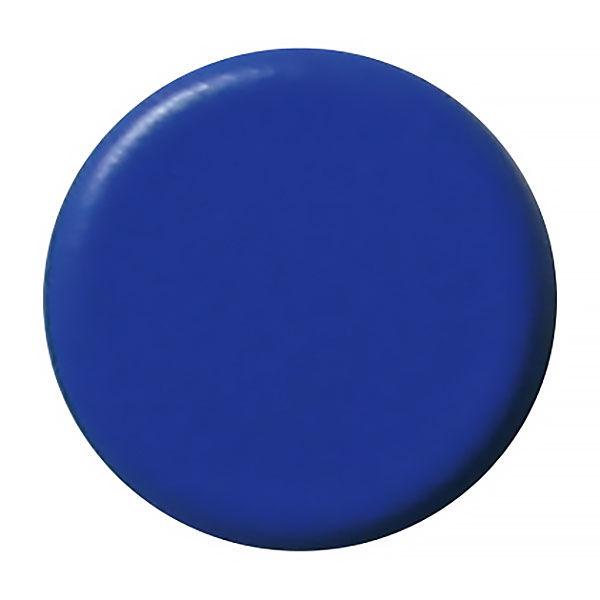 両面強力カラーマグネット 青 10個