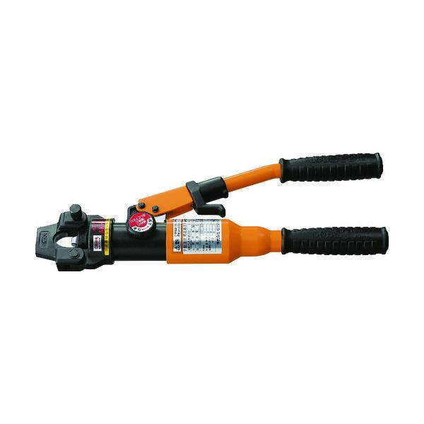 ロブテックス エビ 手動油圧式圧着工具 使用範囲14・22・38・60 AKH60N 1台 123ー8795 (直送品)