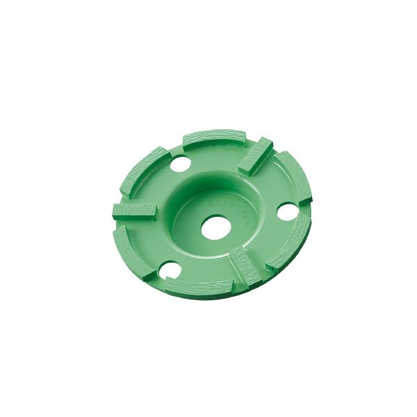 ロブテックス エビ ダイヤモンドカップホイール力削中仕上 ダブルカップ CDE4 1枚 123ー9848 (直送品)