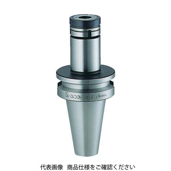 ユキワ精工(YUKIWA) ユキワ ニュードリルミルチャック 把握径0.5~10mm 首下長60mm BT40-NDC10-60 208-5887 (直送品)