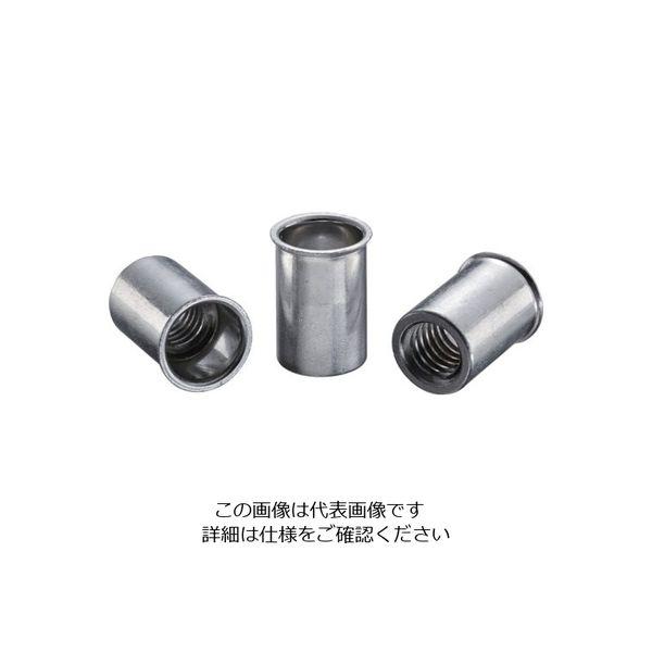 ロブテックス エビ ナット(500本入) Kタイプ スティール 10ー4.0 NSK10M 1セット(500本:500本入×1箱) 126ー0146 (直送品)