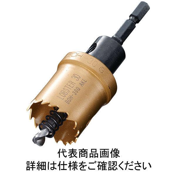 ロブテックス エビ バイメタルホルソー 33mm 六角軸 BOH33G 1本 335ー4679 (直送品)