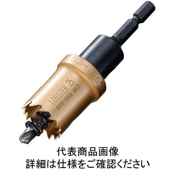 ロブテックス エビ バイメタルホルソー 27mm 六角軸 BOH27G 1本 335ー4610 (直送品)
