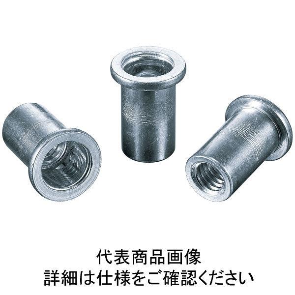 ロブテックス エビ パック入りナット(25本入) Dタイプ アルミニウム 8ー3.2 NAD8P  310ー3897 (直送品)