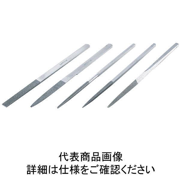 ロブテックス エビ 鉄工ダイヤヤスリ 5本組 三角 K5S 1本 124ー3586 (直送品)