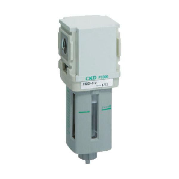 CKD(シーケーディー) CKD エアフィルター F4000-10-W 1個 344-4708(直送品)