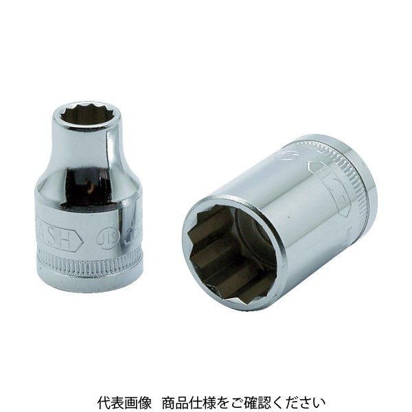旭金属工業 ASH 12角ソケット12.7□×30mm VS4300 1個 376-7540(直送品)