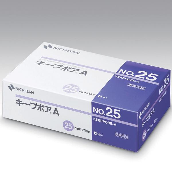 ニチバン キープポアA 25mm×9m No.25 1箱(12巻入)