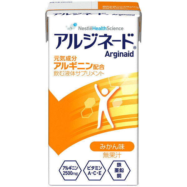 ネスレ日本 アイソカル アルジネード 蜜柑 1箱(24パック入) (取寄品)