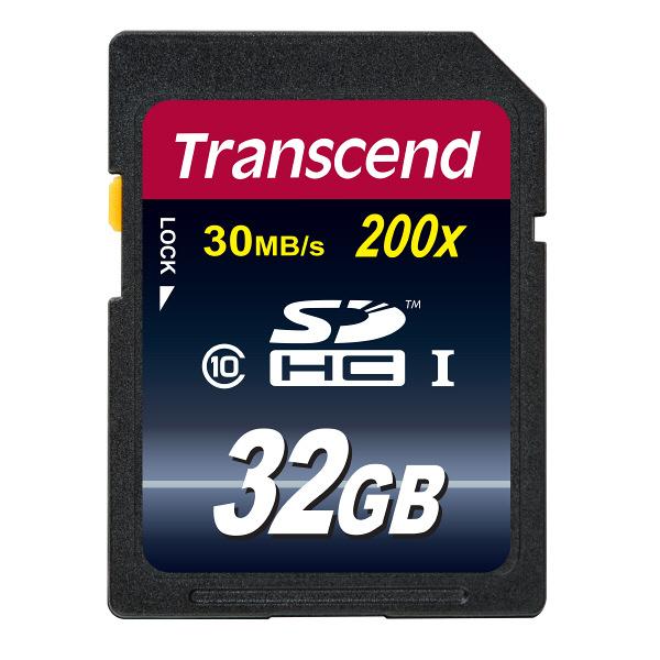 トランセンド SDHC32GB