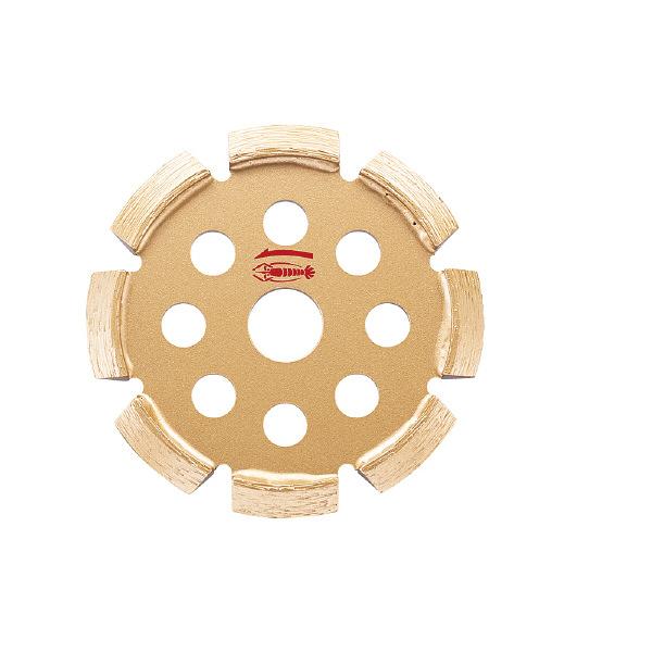 ロブテックス エビ ダイヤモンドホイール Vカッター 108mm V105 1枚 372ー6568 (直送品)