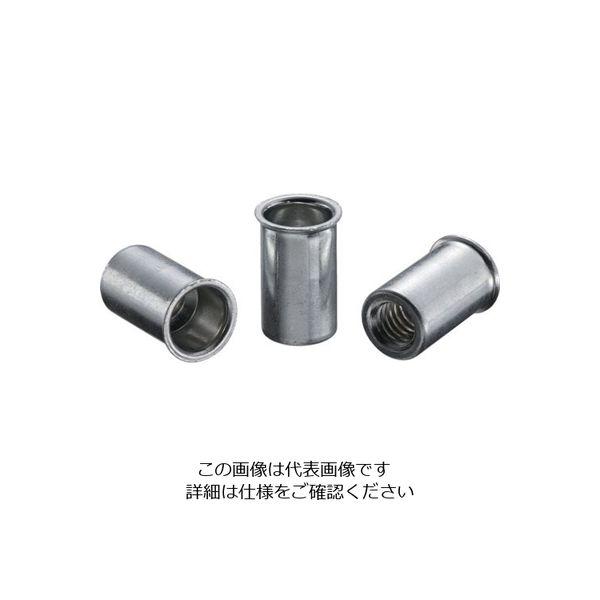 ロブテックス エビ ナット(1000本入) Kタイプ スティール 6ー4.0 NSK640M  372ー5057 (直送品)
