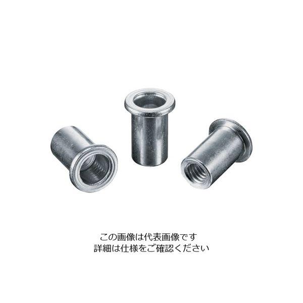 ロブテックス エビ ナット(1000本入) Dタイプ スティール 8ー3.2 NSD8M 126ー0103 (直送品)
