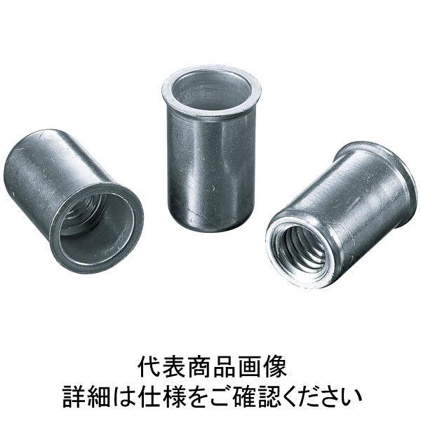 ロブテックス エビ ナット(1000本入) Kタイプ アルミニウム 4ー1.5 NAK415M  372ー3640 (直送品)