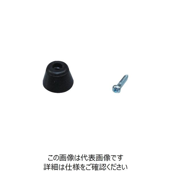 アイテック(AiTec) 光 ゴム底脚 15mm丸 (4個入) KG-150 1パック(4個) 381-5421(直送品)