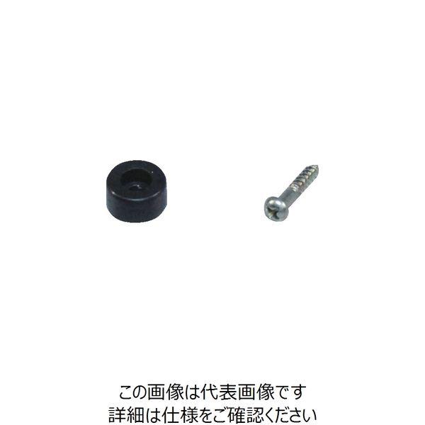 アイテック(AiTec) 光 ゴム底脚 10mm丸 (4個入) KG-100 1パック(4個) 381-5412(直送品)