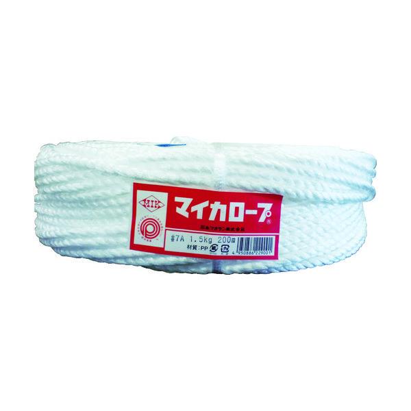 石本マオラン 石本 マイカロープ#7A1.5kg約 MLP-7A 1巻(200m) 375-0558(直送品)